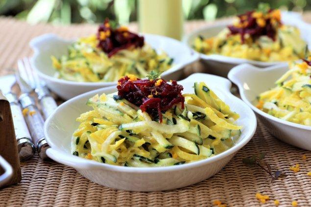 Low-Carb Zucchini-Käse-Pfanne
