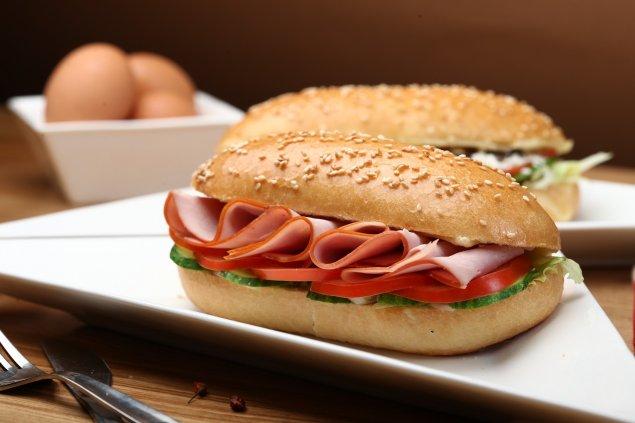 Glutenfreies Sandwich