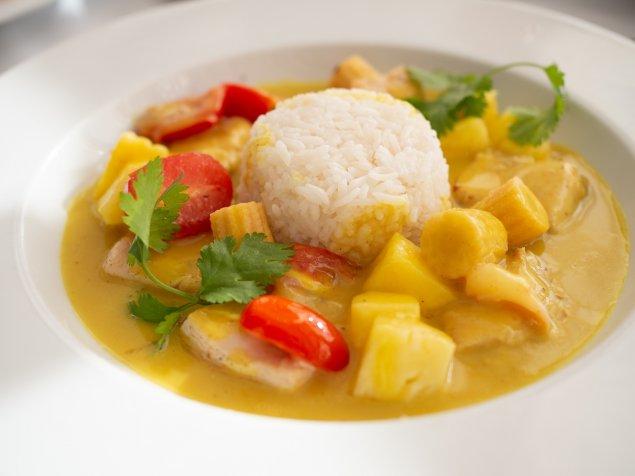Süßkartoffel-Gemüse-Curry