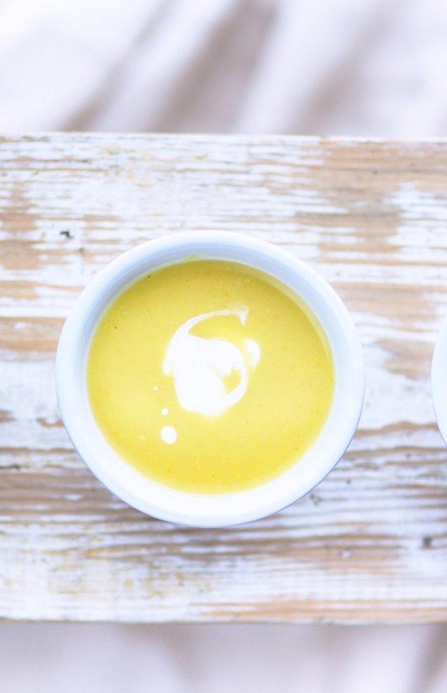 Blumenkohl-Frischkäse-Suppe