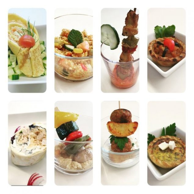 "Fingerfood-Paket ""Classic"" (7 Teile p.P.)"