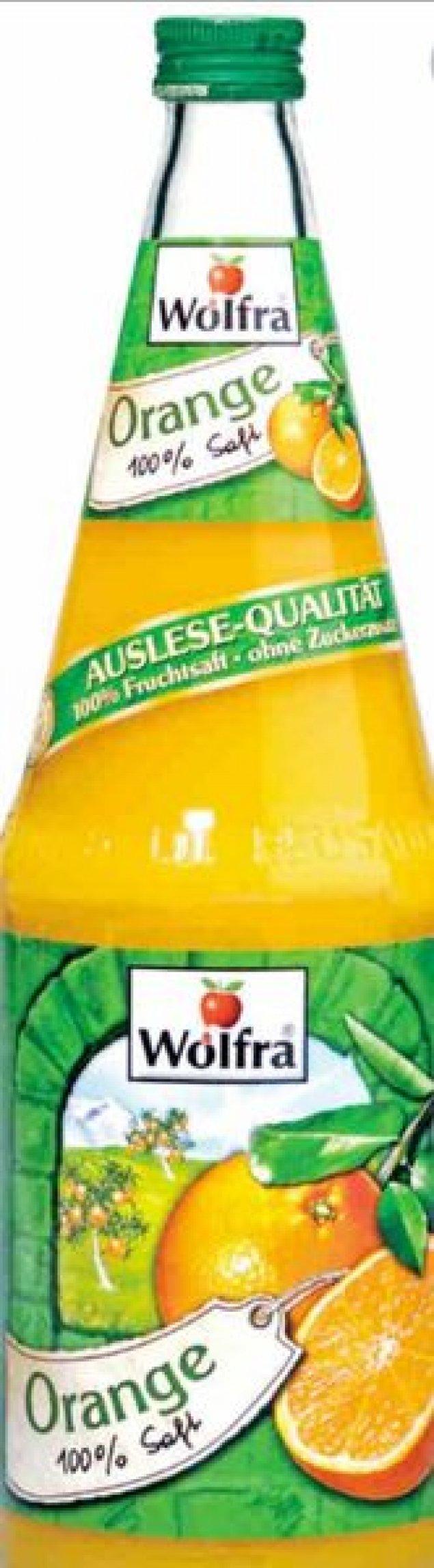 Wolfra Orangensaft 1l