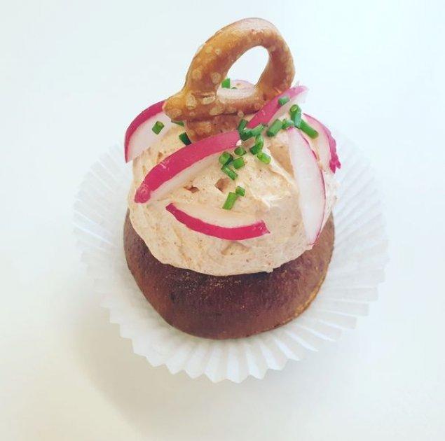 Obatzda-Cupcakes