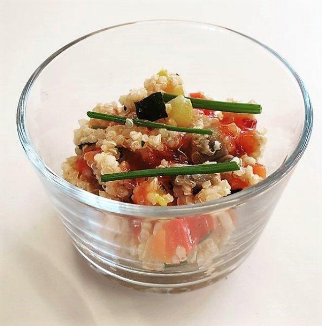 Mini Quinoa-Gemüse-Salat