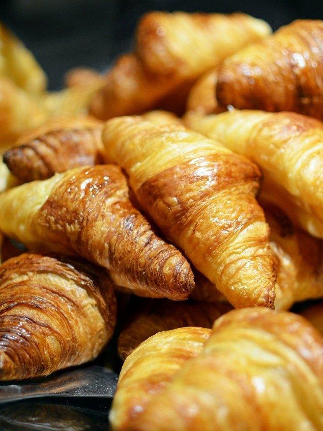 Süße Mini Croissants